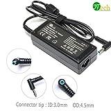 YTech 19.5V 3.33A 65W AC Power Adapter Charger for HP Envy Touchsmart 14-k00tx 14-k047tx, Chromebook 14-q010nr,Pavilion Sleekbook 14-b000,PPP009L-E PA-1650-32HE 721092-001 741727-001