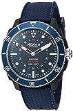 Alpina Men's AL-282LNN4V6 Horological Smart Watch Analog Display Quartz Blue Watch