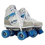 KRYPTONICS Roller Skates - Blitz White/Blue 62MM/82A (EU37-38 / US5-6)