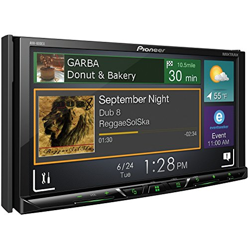 """Pioneer AVH-600EX in-Dash Receiver DVD Receiver w/ 7"""" WVGA Display, Bluetooth, SiriusXM Ready and AppRadio"""