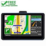 7 inches Car GPS, Navigation System for Cars Lifetime Map Update Touch Screen Real Voice Direction Vehicle GPS Navigator