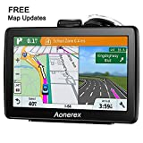 GPS Navigation for Cars, 7-inch HD Touch Screen, Built-in 8GB Real Voice Turn Alarm, Satellite Navigation, Free Lifetime map