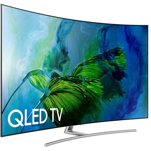 Samsung QN75Q8C Curved QLED TV Black Friday Deal 2019