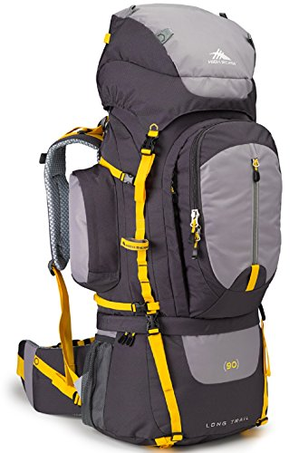 High Sierra Long Trail 90 Internal Frame Pack, Mercury/Ash/Yell-O
