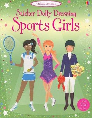 Sticker Dolly Dressing Sportsgirls