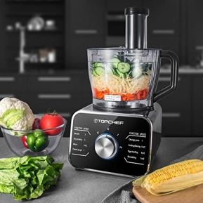 Robot-culinaire-Topchef-1100W-Robot-Multifonctionavec-accessoires-inclus-crochet-petrisseur-mixeur-presse-agrumes-et-moulin-a-cafe-argentnoir