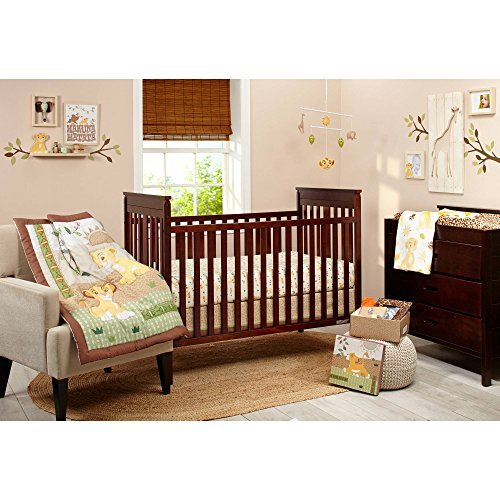 Lion King Under the Sun Crib Bedding Set, 4-Piece