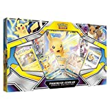 Pokemon TCG: Pikachu-Gx & Eevee-Gx Special Collection   4 Booster Pack   Pikachu-Gx Foil Promo Card   Eevee-Gx Foil Promo Card