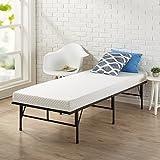 Zinus Memory Foam 4 Inch Mattress, Narrow Twin / Cot Size / RV Bunk / Guest Bed Replacement / 30' x 75'