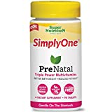 Super Nutrition - Simply One PreNatal Power Vitamins - 90 Tablets