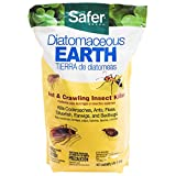 Safer Brand 51703 Diatomaceous Earth-Bed Bug Flea, Ant, Crawling Insect Killer 4 lb