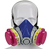 Safety Works SWX00320 Multi-Purpose Respirator Half-Mask Niosh Ov/AG/P100