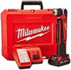 "Milwaukee Electric Tool 2615-21CT Right Angle Cordless Drill Kit, 18 V, Li-Ion, 3/8"" Single Sleeve Chuck"