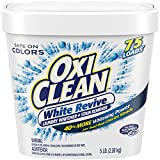 OxiClean White Revive Laundry Whitener + Stain Remover, 5 lbs.