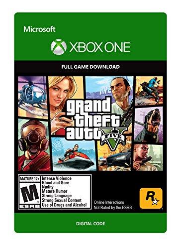 Grand Theft Auto V - Xbox One Digital Code