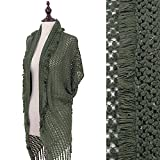 Product review for StylesILove Frayed End Dot Lace Knited Women's Cardigan Sweater Vest
