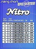 Epic Skates Nitro Turbo Indoor/Outdoor Quad Speed Roller Skates