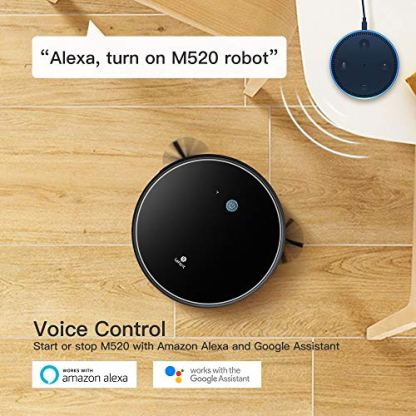 LEFANT-Robot-Vacuum-M520-Robotic-Vacuums-Cleaner-2200Pa-Strong-Suction-Wi-Fi-Connectivity-Robotic-Vacuum-Compatible-with-Alexa-and-Google-Self-Charging-Good-for-Pet-Hair-Carpets-Hard-Floors