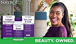 Natrol Biotin Beauty Tablets, Promotes Healthy Hair, Skin and Nails, Helps Support Energy Metabolism, Helps Convert Food Into Energy, Maximum Strength, 10,000mcg, 100 Count (Pack of 2)  Image 3