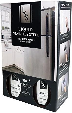 Liquid Stainless Fridge Kit, Stainless Steel