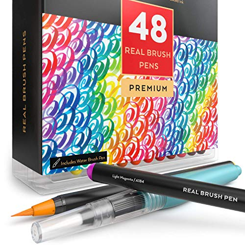 Arteza Real Brush Pens