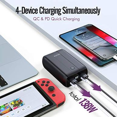 Portable-Charger-26800mAh-imuto-Power-Bank-with-Dual-USB-C-PD-100W60W-2-USB-A-15WQC30-18W-External-Battery-Pack-Quick-Charge-Compatible-with-USB-C-Laptops-MacBook-Pro-iPad-Pro-iPhone-12