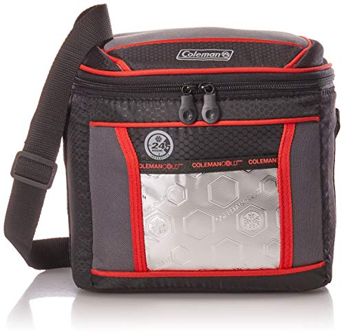 Coleman Soft Cooler Bag | Keeps Ice Up to 24 Hours | 9-Can Insulated Lunch Cooler with Adjustable Shoulder Straps | Great for Picnics, BBQs, Camping, Tailgating & Outdoor Activities