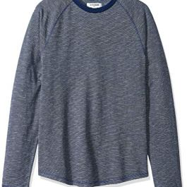 Amazon Brand – Goodthreads Men's Long-Sleeve Indigo Raglan T-Shirt
