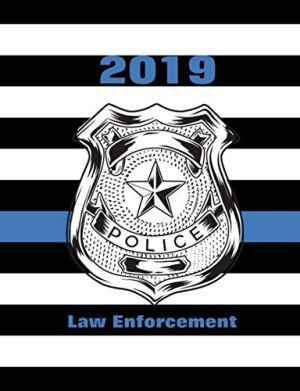 2019 Law Enforcement: Thin Blue Line US Flag