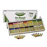 Crayola Oil Pastels Classpack, 12 Brilliant Opaque Colors, School Supplies, 336 Count
