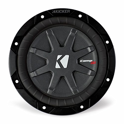 Kicker 40CWRT672 CompRT 6-3/4' Car Subwoofer - Each (Black)