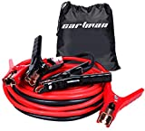 CARTMAN Booster Cable 4 Gauge x 16Ft in Carry Bag