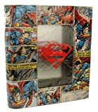 Vandor SUPERMAN Comic Book Tin Storage Box Licensed Comic Item