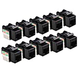Cable Matters UL Listed 10-Pack Cat6 RJ45 Keystone Jack (Cat 6, Cat6 Keystone Jack) in Black