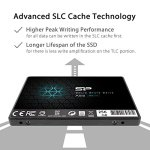 SP 256GB SSD 3D NAND A55 SLC Cache Performance Boost SATA III 2.5″ 7mm (0.28″) Internal Solid State Drive (SP256GBSS3A55S25)