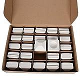 GasSaf Ceramic Briquettes Replacement for Lynx Gas Gril LDR27, LDR30, LDR36 and Most, Set of 50 briquettes