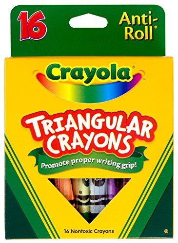 Crayola Triangular Crayons, Toddler Crayons, Coloring Gift