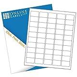 1.5' x 1' Rectangle Barcode Labels - Pack of 5,000 Labels, 100 Sheets - Inkjet/Laser Printer - Online Labels