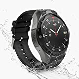 AllCall W2 Professional Waterproof Android smartwatch IP68 Waterproof 3G Smartwatch Phone 2GB RAM 16GB ROM 2.0MP Camera GPS Sports Fitness Tracker 460mAh Battery WiFi Support