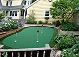 StarPro 15ft x 28ft 5-Hole Professional Practice Putting Green 'Best in the World.'
