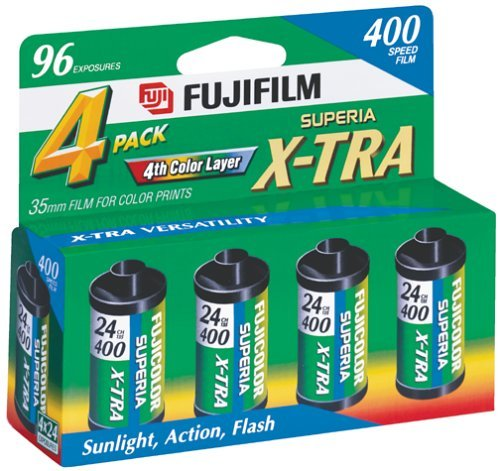 Fujifilm 1014258 Superia 35mm Film – 4 Pack