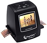 ClearClick 22MP Virtuoso Film & Slide Scanner with PhotoPad Software & 8 GB Memory Card - Convert 35mm, 110, 126, Super 8 Film to Digital