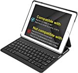 iPad Air 2 Keyboard Case, for iPad Air 2 [ONLY], Smart Magnetic Switch Equiped, (Not Compatible with iPad 2017/2018/iPad Air), BK2001 Black