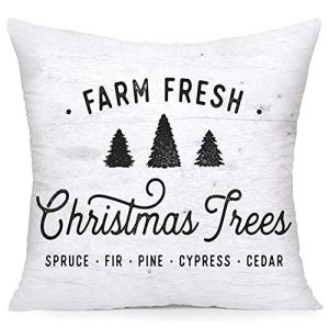 Royalours-Christmas-Pillow-Cover-Set-of-2-Super-Soft-Christmas-Tree-Farm-Fresh-Throw-Pillow-Covers-Xmas-Home-Farmhouse-Pillowcase-Cushion-Cover-18x-18-Soft-Xmas