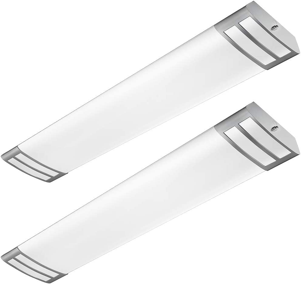 AntLux 4ft LED Flush Mount Linear Lights