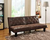Product review for DHP Venti Vintage-Styled, Split Back Futon, Brown Microfiber
