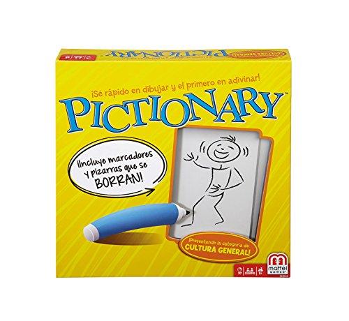 Mattel-Games-Juegos-de-mesa-para-nios-Pictionary-idioma-castellano-Mattel-DKD51