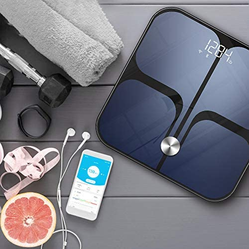 Digital Scale - Wi-Fi Bluetooth Auto - Switch Smart Scale Digital Weight, Body Fat Scale for Weight, 14 Body Composition Monitor with iOS, Android APP, Support Unlimited Users, Auto - Recognition 8