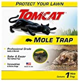 Tomcat Mole Trap , Protect Your Lawn With a Safe & Easy Trap, Effectively Kills Without Drawing Blood, Professional Grade, Innovative & Effective Design , 1 mole trap