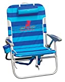 Tommy Bahama Big Boy Backpack Chair Blue Stripe